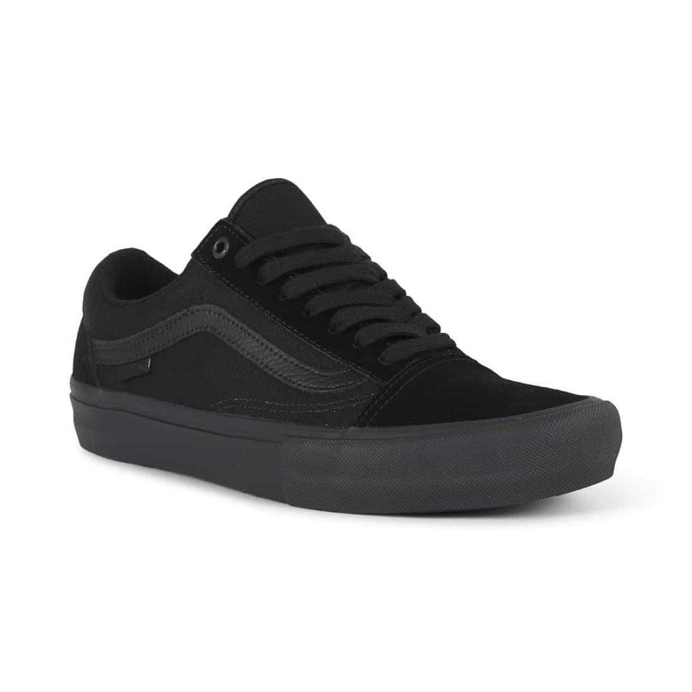 929d0e21fcd Vans Old Skool Pro Skate Shoes - Blackout