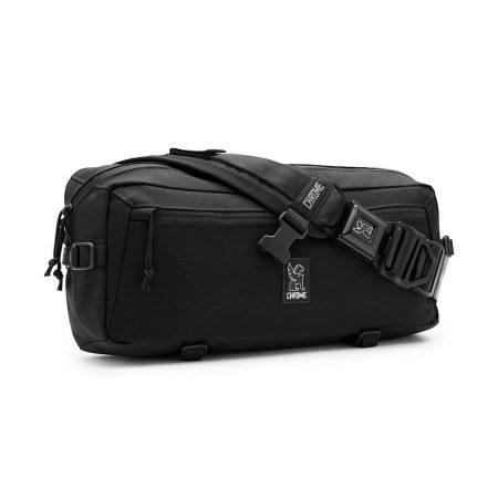Chrome Kadet Nylon 9L Messenger Bag - Black
