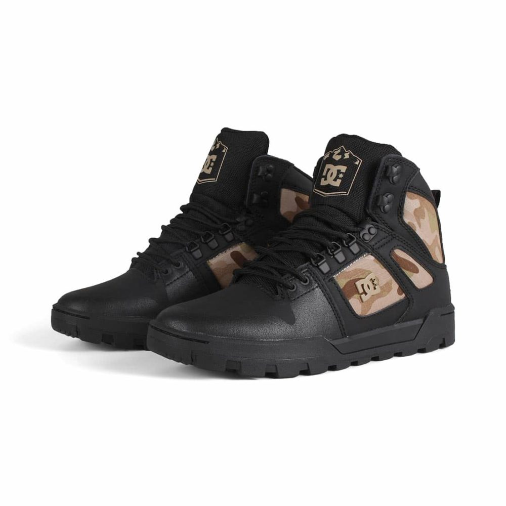 DC-Shoes-Pure-High-Top-WR-Boot-Black-Camo-02