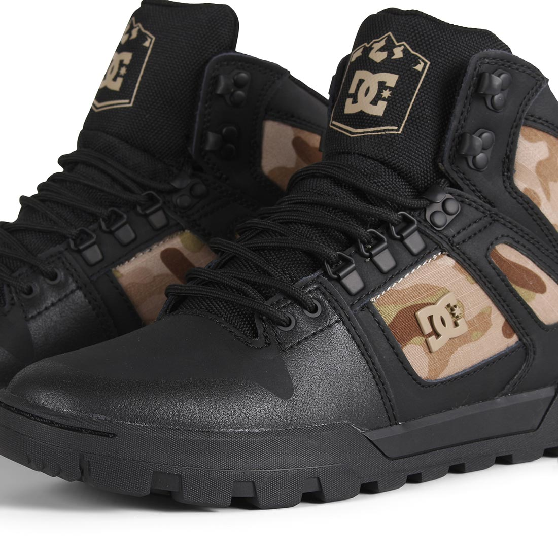 DC Shoes Pure High Top WR Boot - Black / Camo