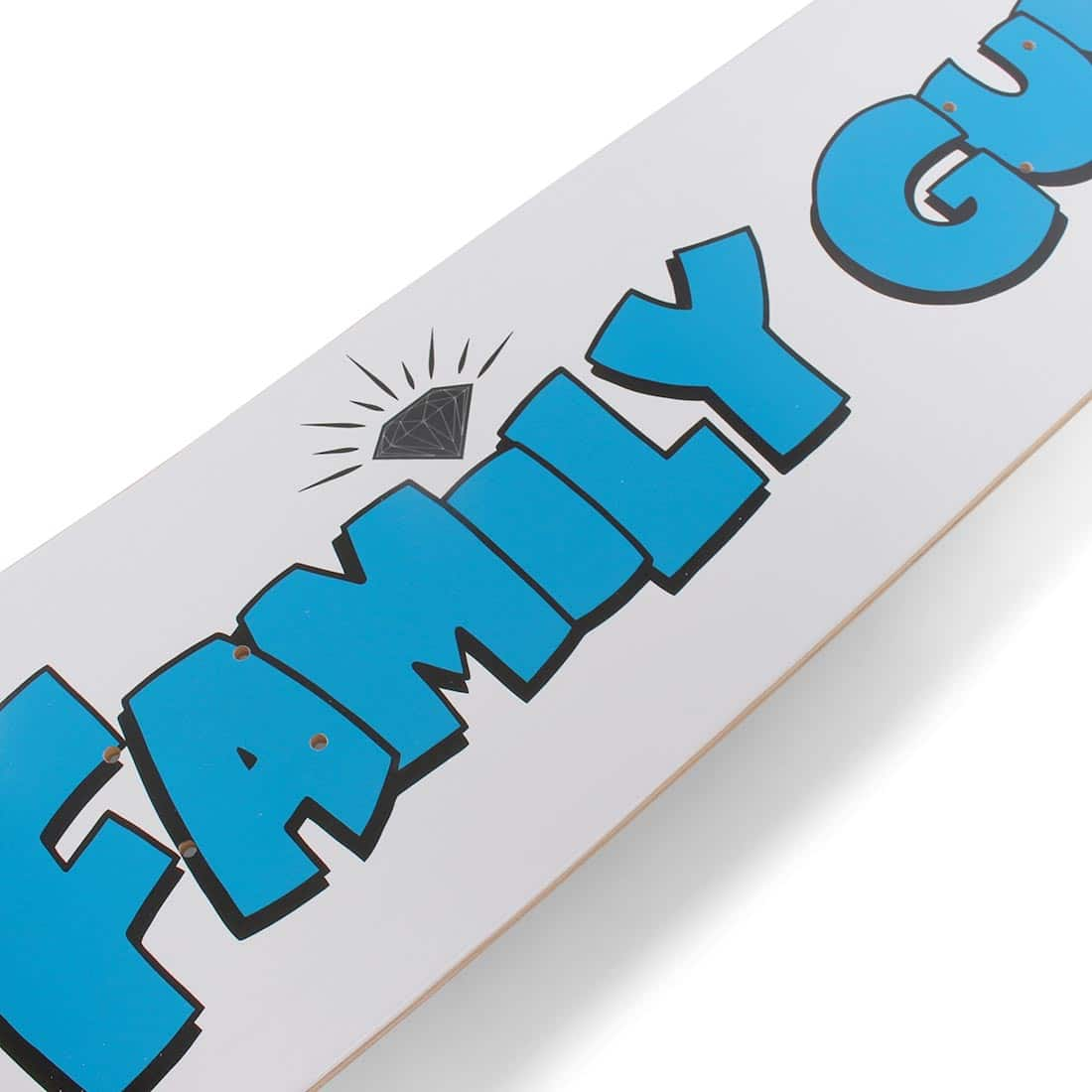 "Diamond x Family Guy 8.25"" Skateboard Deck - White"