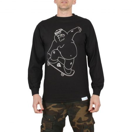 Diamond x Family Guy Peter Griffin L/S T-Shirt - Black