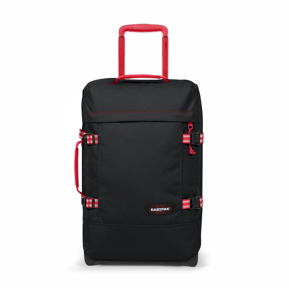 Eastpak-Tranverz-S-42L-Carry-On-Suitcase-Blakout-Dark-05