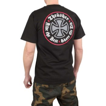 Independent x Thrasher Oath S/S T-Shirt - Black