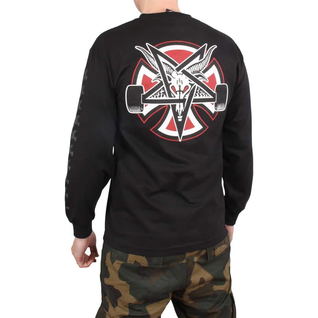 38e7c8c736eb Independent x Thrasher Pentagram Cross L/S T-Shirt – Black