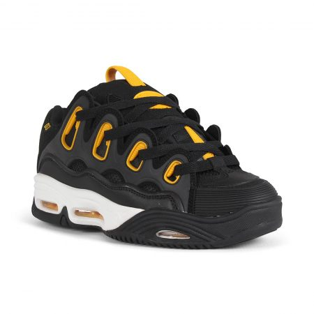 Osiris D3 2001 Shoes - Black / White / Yellow