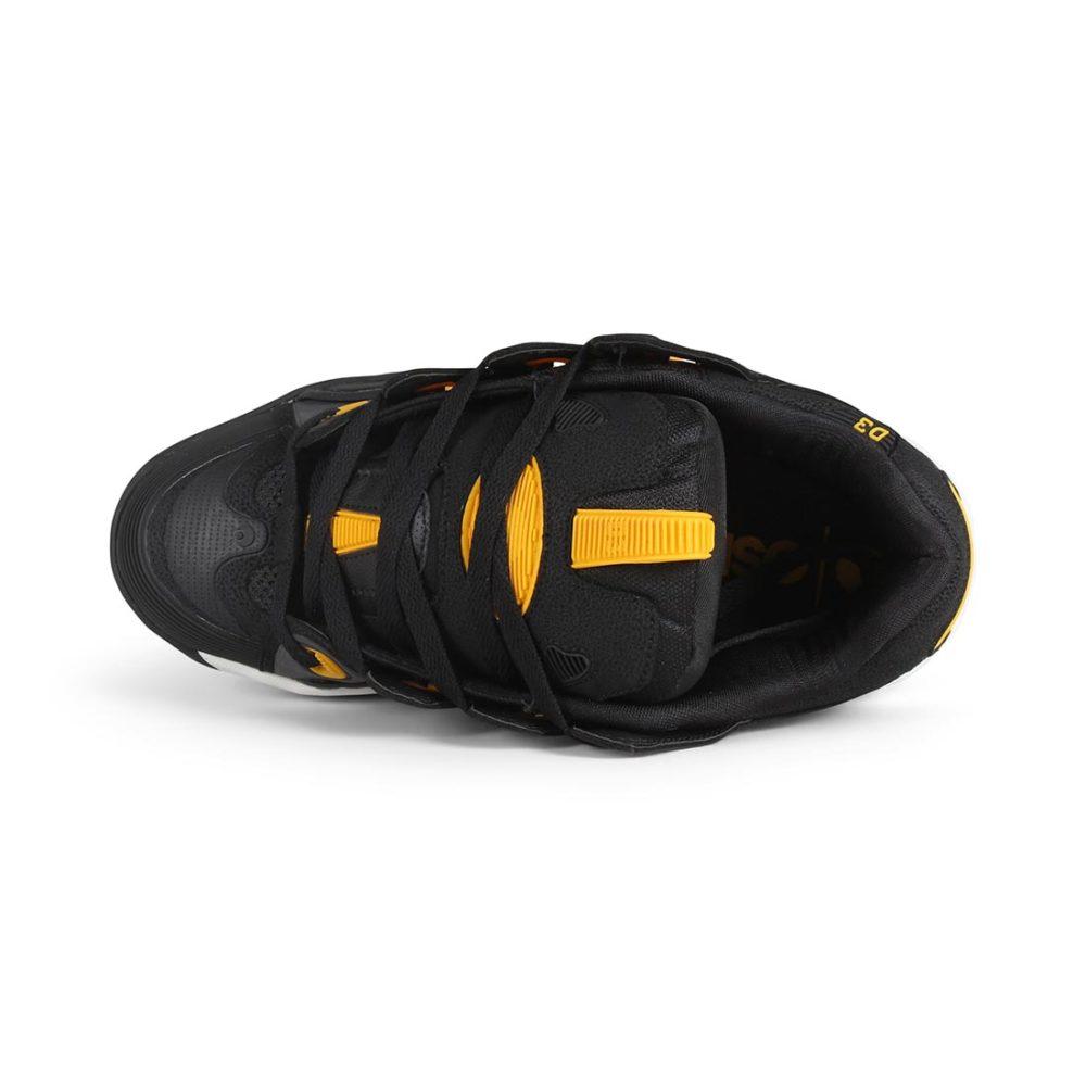 Osiris D3 2001 Shoes - Black / White / Yellow