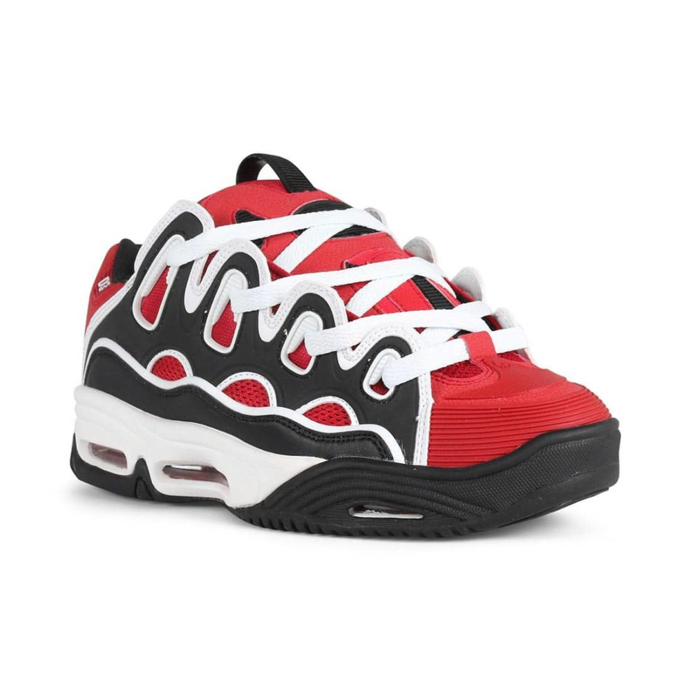 Osiris-D3-2001-Shoes-Red-Black-White-1