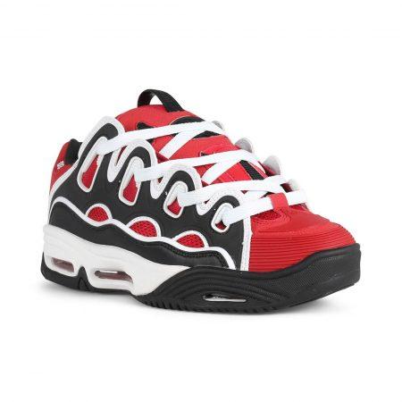 Osiris D3 2001 Shoes - Red / Black / White