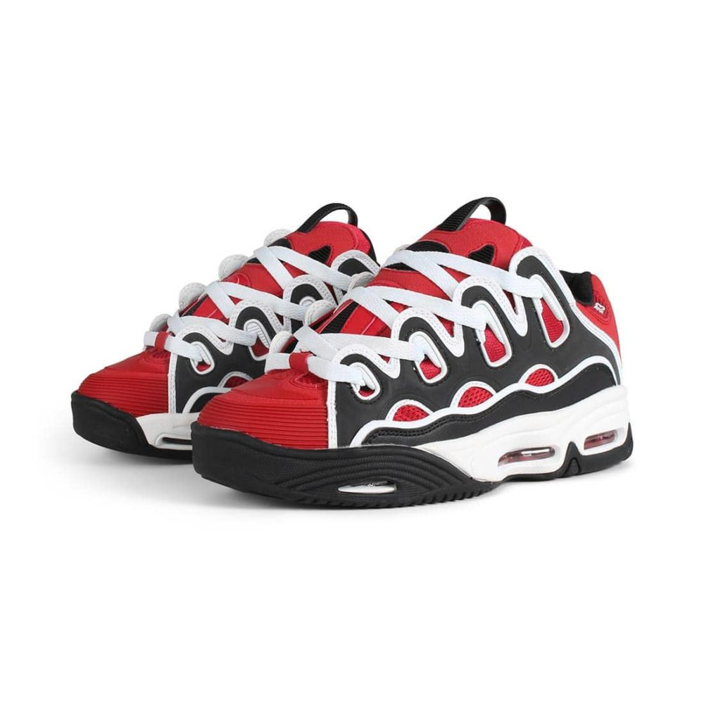 Osiris-D3-2001-Shoes-Red-Black-White-2