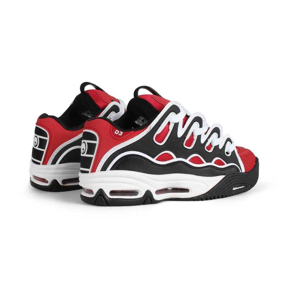 Osiris-D3-2001-Shoes-Red-Black-White-3