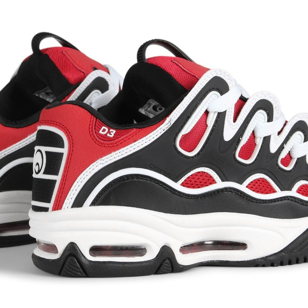 Osiris-D3-2001-Shoes-Red-Black-White-5