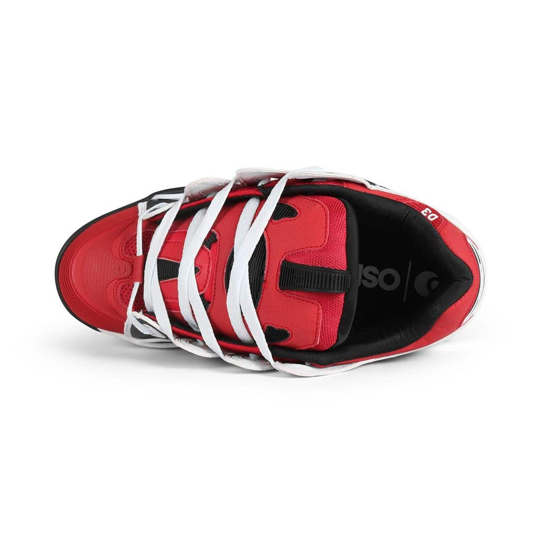 Osiris D3 2001 Shoes - Red / Black / White