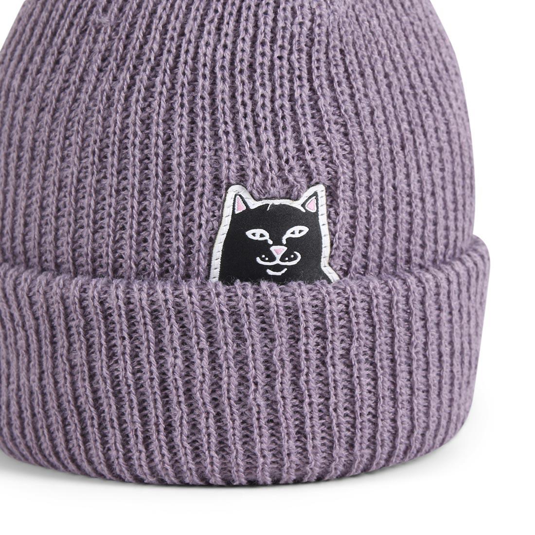 RIPNDIP Lord Jermal Rib Beanie hat - Lavender