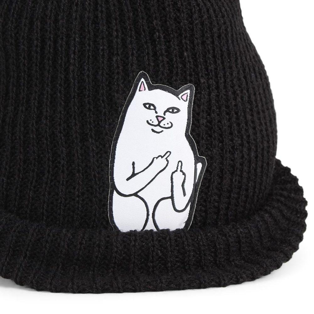 RIPNDIP Lord Nermal Rib Beanie hat - Black