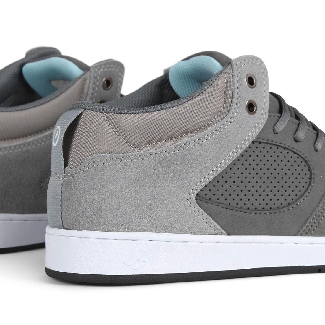 eS Accel Slim Mid Shoes - Dark Grey / Grey