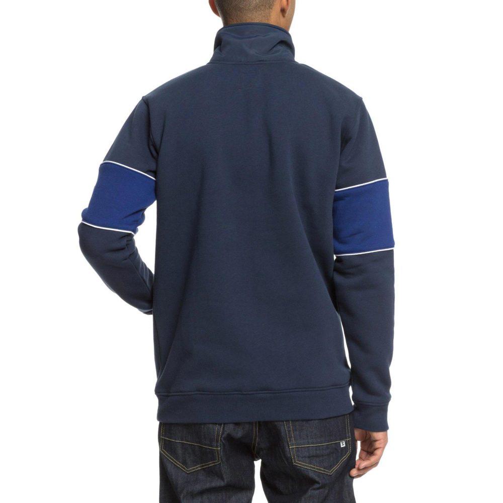 DC Shoes Clewiston Half Zip Mock Zip Sweatshirt BTL0 3