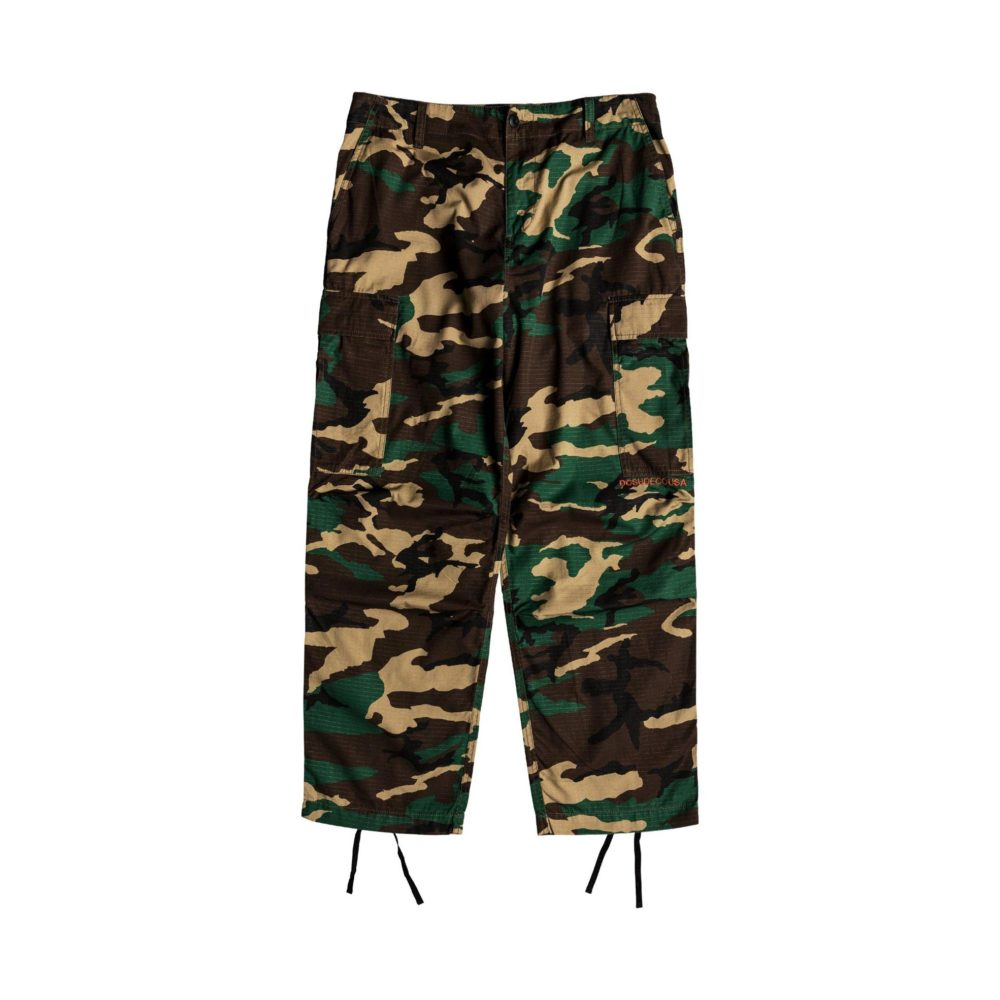 DC Shoes Infield Military Cargo Trousers GRW6 2