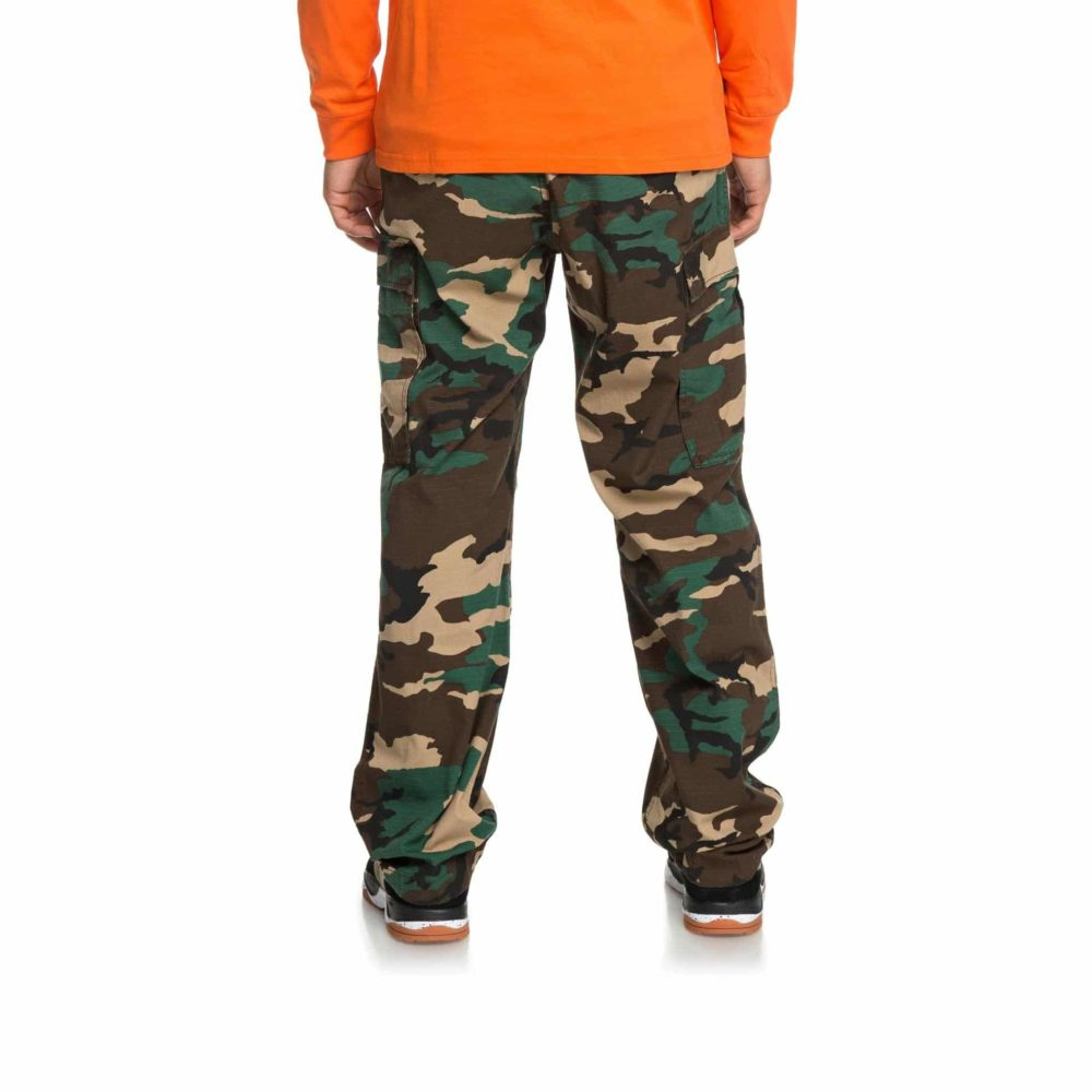 DC Shoes Infield Military Cargo Trousers GRW6 3