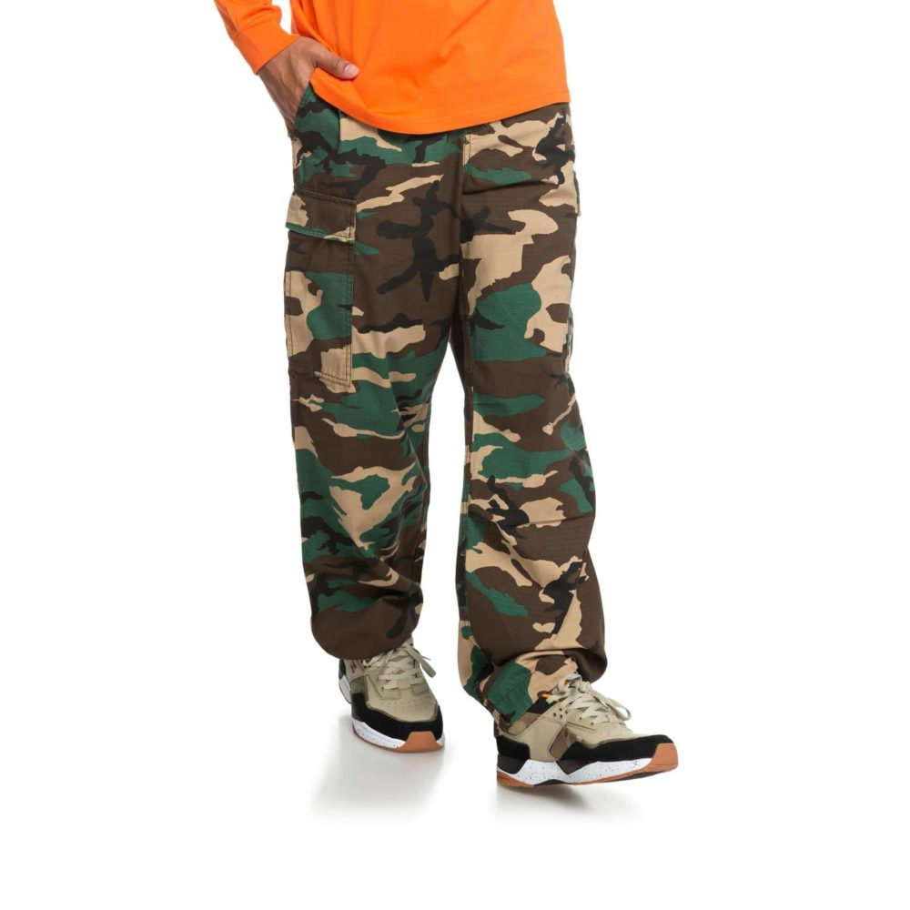 DC Shoes Infield Military Cargo Trousers GRW6 4