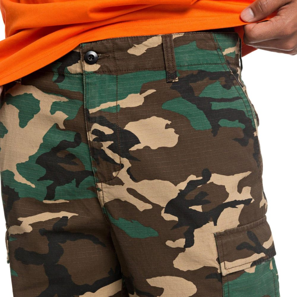 DC Shoes Infield Military Cargo Trousers GRW6 8