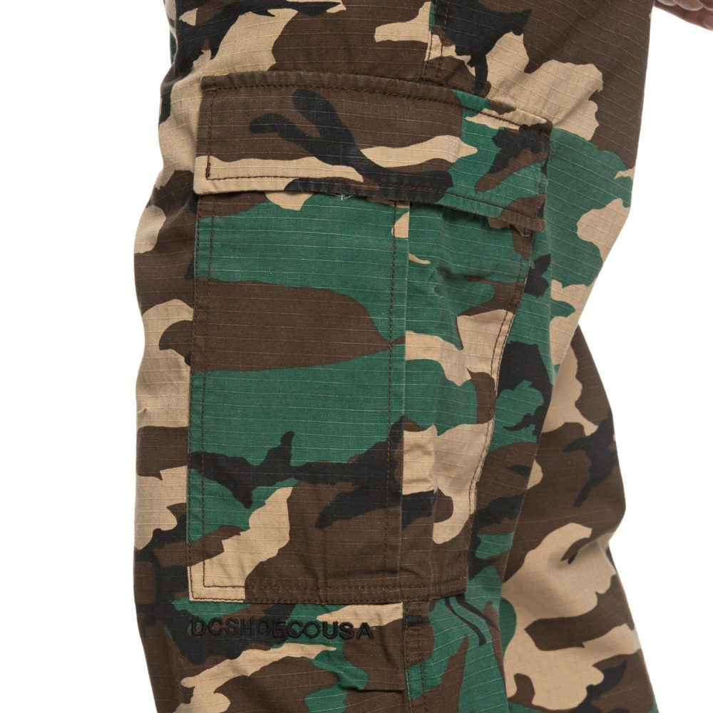 DC Shoes Infield Military Cargo Trousers GRW6 9