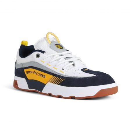 DC Shoes Legacy 98 Slim S - White / Yellow / Blue