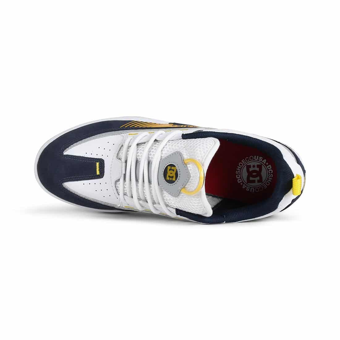 DC Shoes Legacy 98 Slim S - White / Yellow / Blue