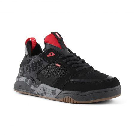 Globe Tilt Evo Shoes - Black / Red / Camo
