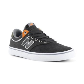 New Balance Numeric 255 Shoes - Dark Grey / Orange