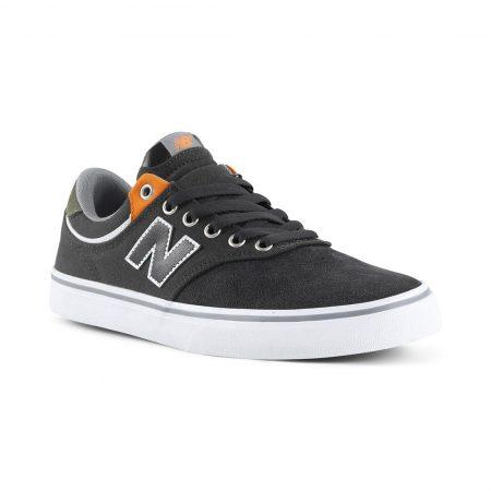 New Balance Numeric 255 Shoes - Dark Grey / Orange