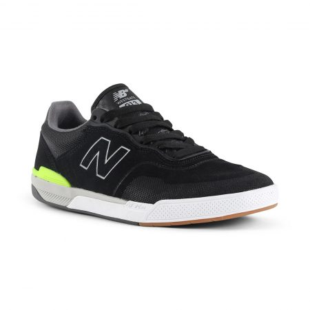 New Balance Numeric 913 Shoes - Black / Grey / Hi Lite
