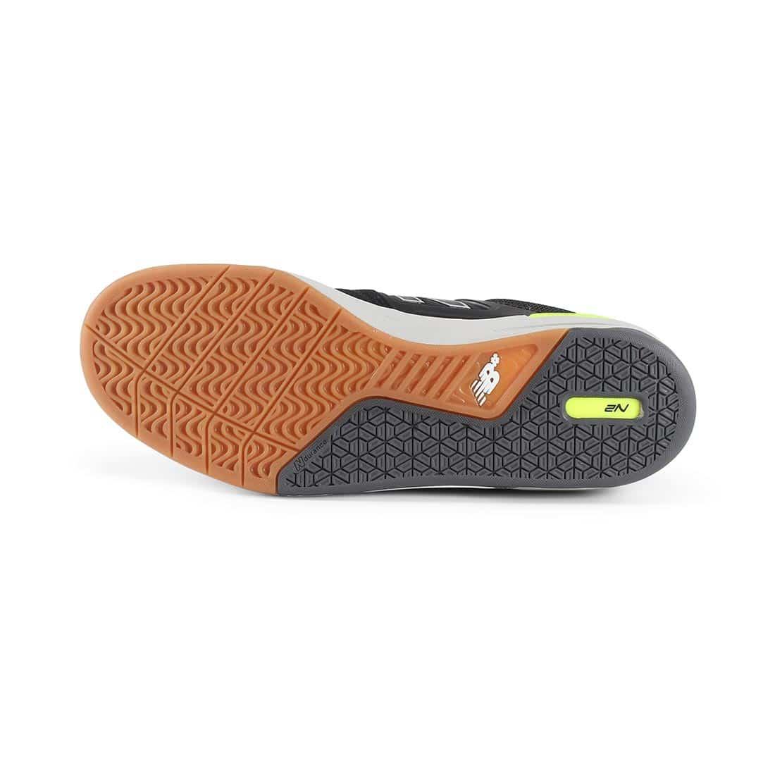 New Balance Numeric 913 Shoes - Black / Grey / Hi Lite