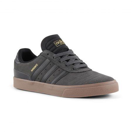 Adidas Busenitz Vulc Shoes - DGH Solid Grey / Core Black / Gum
