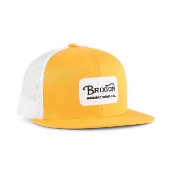 Brixton Grade Mesh Back Cap - Nugget Gold