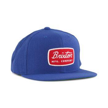 Brixton Jolt Snapback Cap - Royal