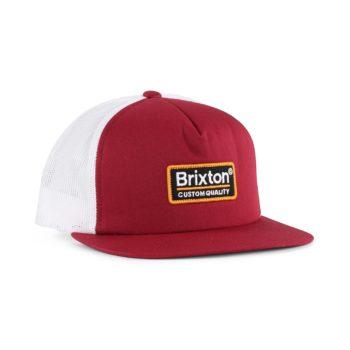 Brixton Palmer Mesh Back Cap - Burgundy / Black