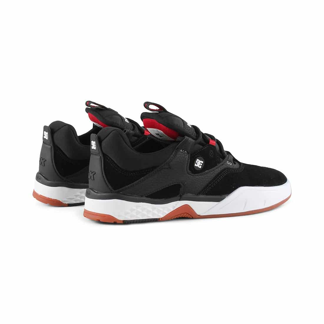 DC Shoes Kalis S - Black / White / Red