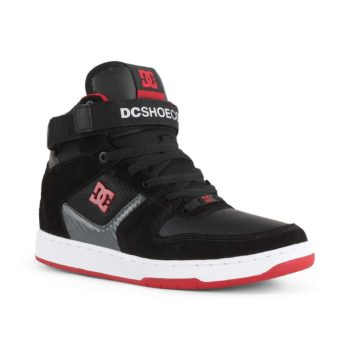 DC Shoes Pensford - Black / Dark Grey / Athletic Red