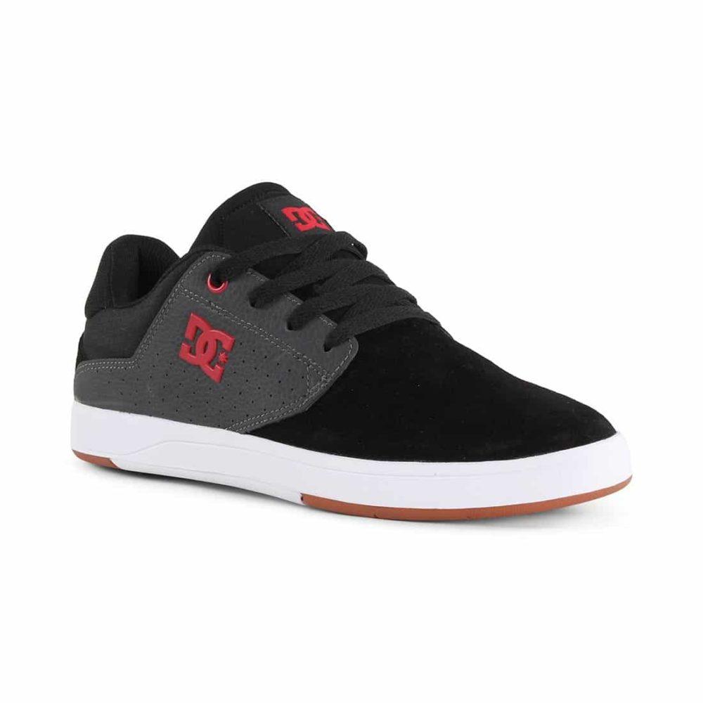 DC Shoes Plaza TC S - Black / Dark Grey / Athletic Red