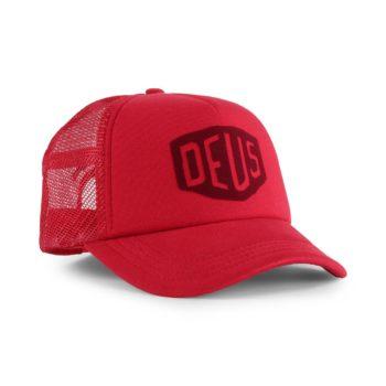 Deus Ex Machina Sunny Shield Trucker Cap - Burnt Red