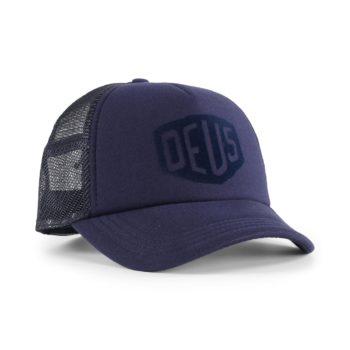 Deus Ex Machina Sunny Shield Trucker Cap - Navy