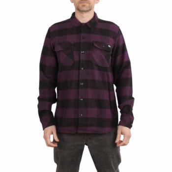 Dickies Sacramento L/S Shirt - Plum