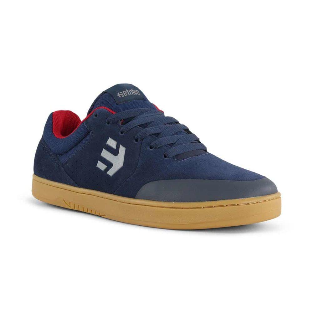 Etnies Marana Michelin Shoes - Navy / Red / Gum