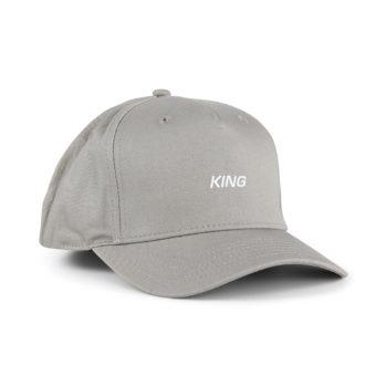 King Defy Curved Peak Cap - Stone