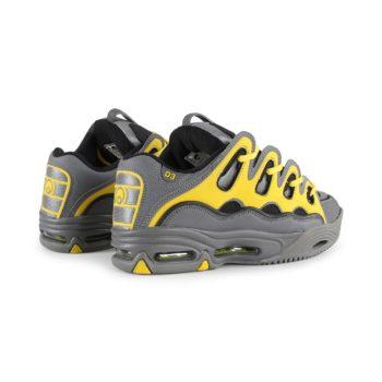 Osiris D3 2001 Shoes - Charcoal / Yellow