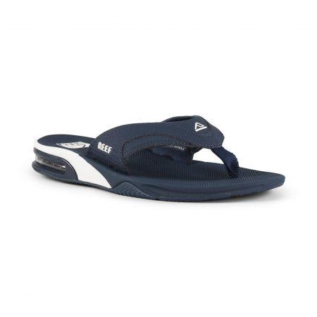 Reef Fanning Sandals - Navy / White