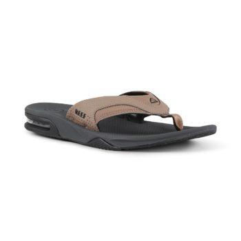 Reef Fanning Sandals - Tan / Black / Tan