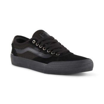 Vans Chima Pro 2 Skate Shoes - Suede Blackout