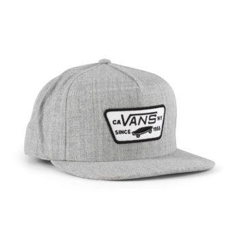 Vans Full Patch Snapback Hat - Heather Grey